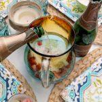 White Sparkling Strawberry Lime Sangria