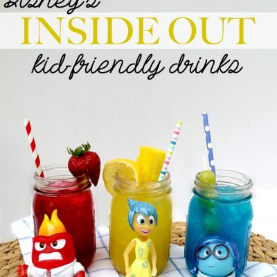 Disney's Inside Out Kid-Friendly Drinks!