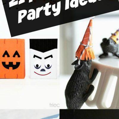 21 Halloween Party Ideas