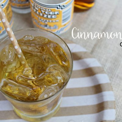 Cinnamon Roll Cocktail