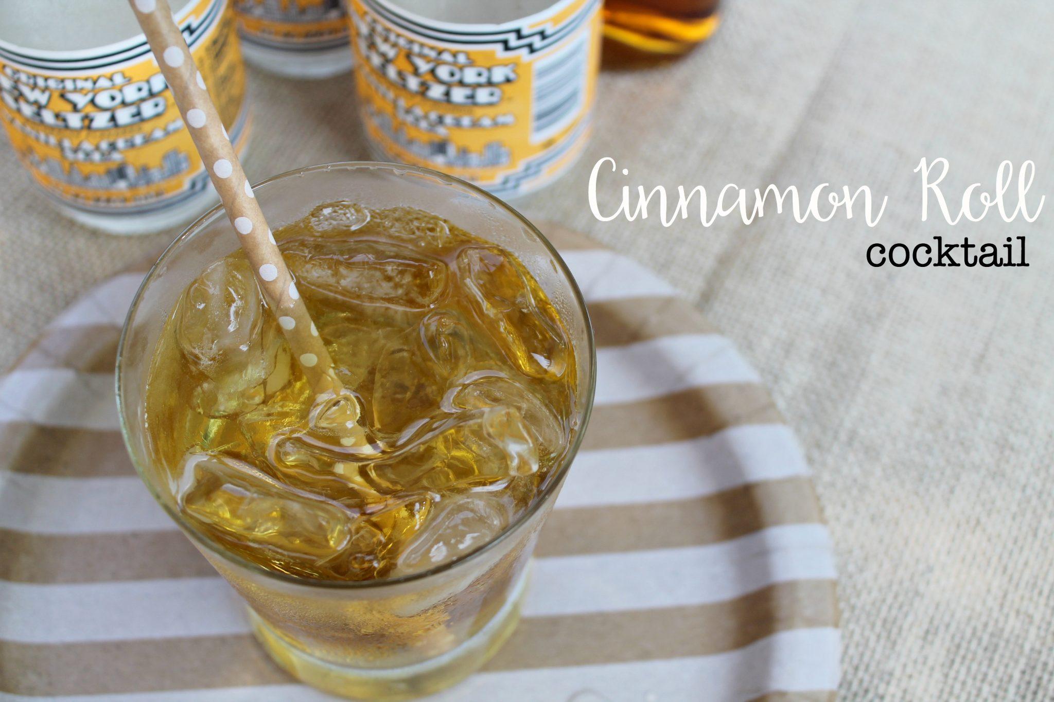Cinnamon Roll Cocktail