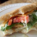 Gluten-Free Avocado Chicken Tender Wrap
