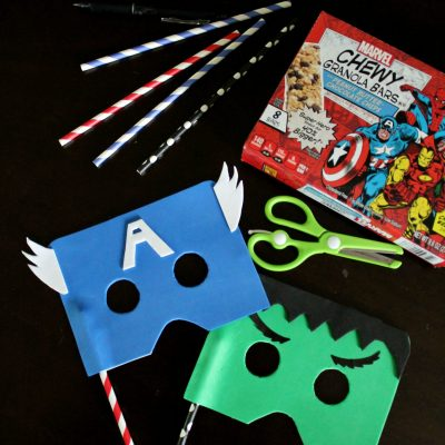 MARVEL DIY Masks!
