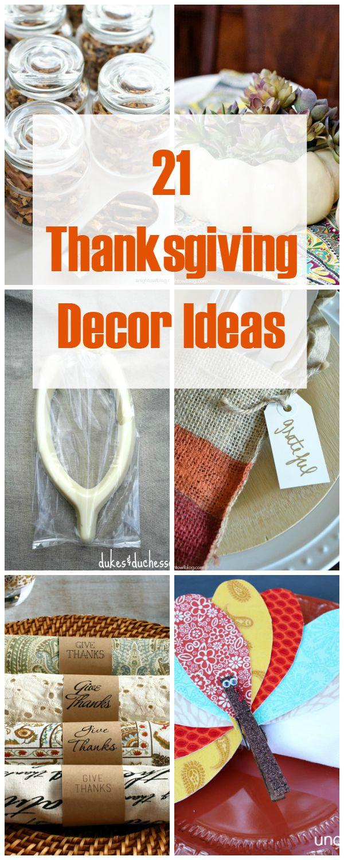 21 Thanksgiving Decor Ideas