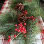 Easy Rustic Holiday Centerpiece