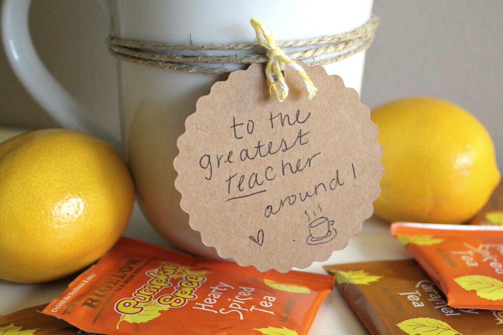 Cute + Simple Teacher Gift Idea