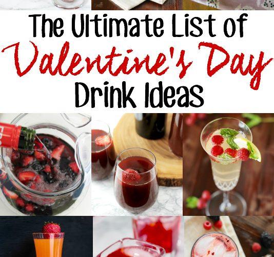 Valentine's Day Drink Ideas