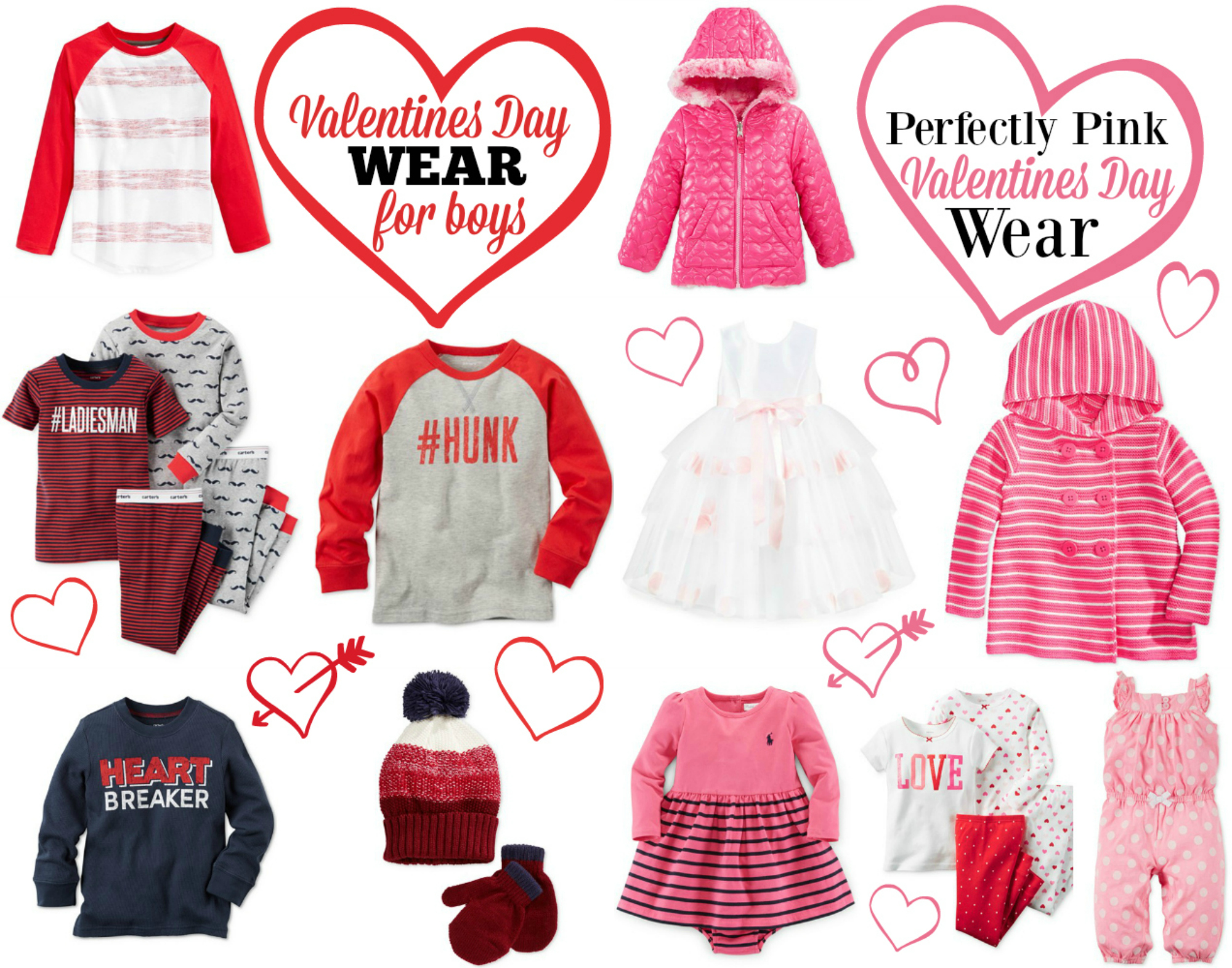 Valentines Day Wear for Little Ones