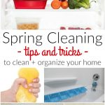 Spring Cleaning + Organization Tips