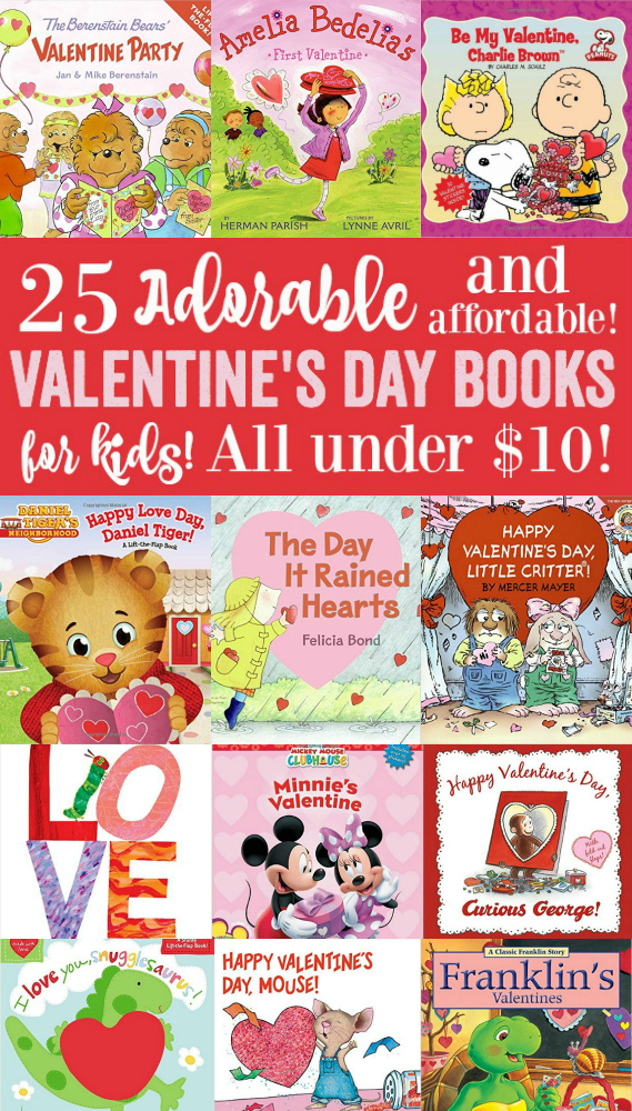 25 Adorable (and affordable) Valentine's Day Books for Kids