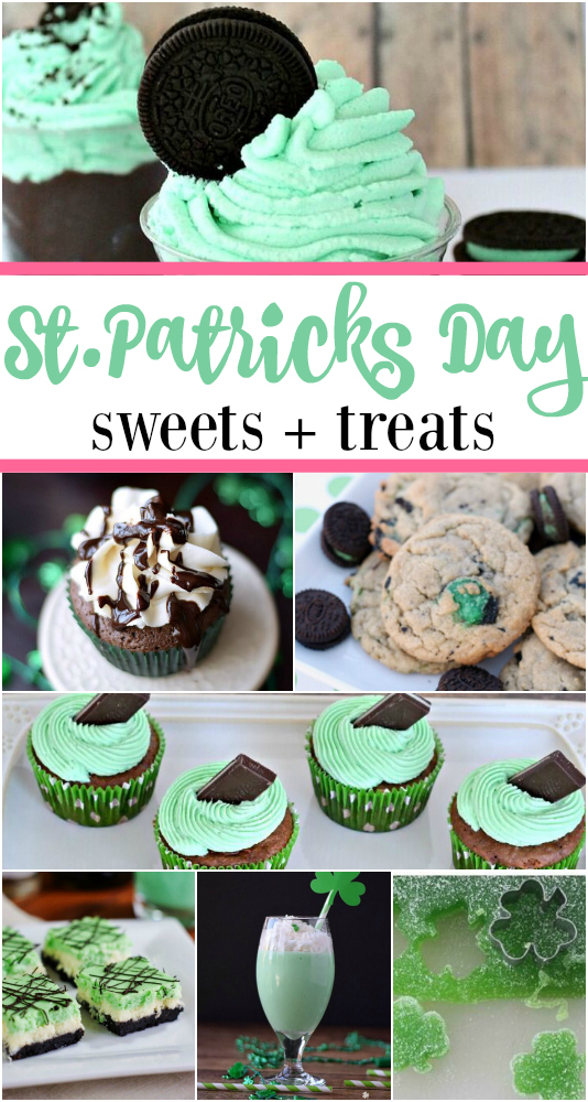 St.Patrick's Day Sweets and treats to try!