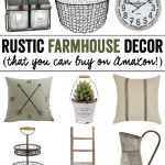 Rustic Farmhouse Decor (from Amazon!)