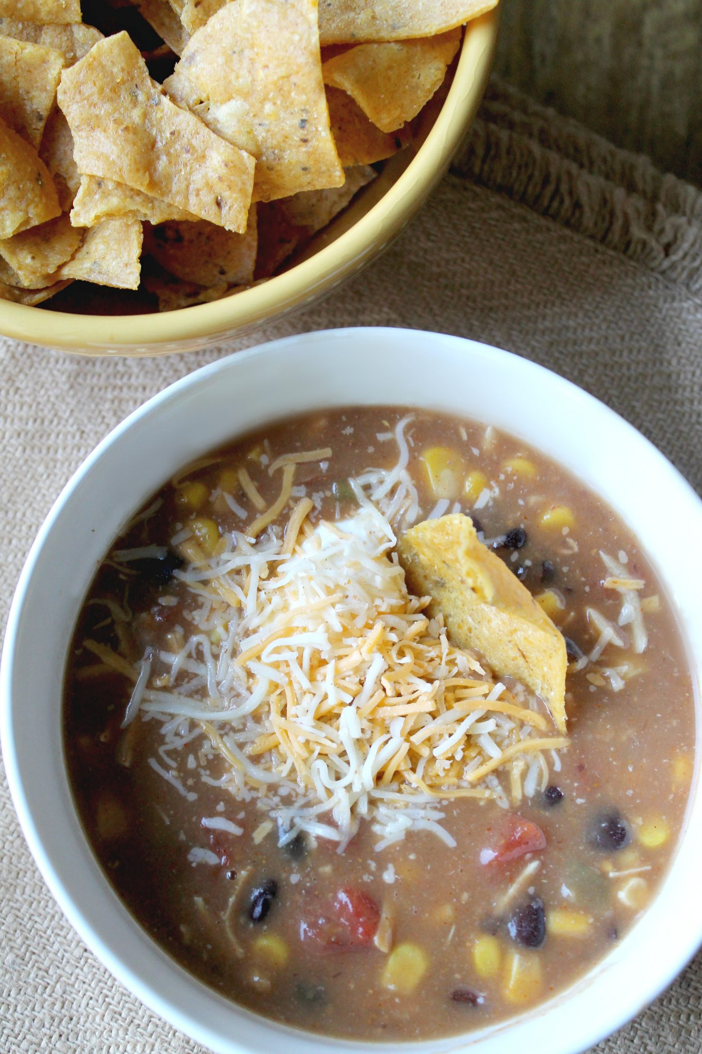 Easy and Delicious Chicken Taco Soup