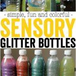 Sensory Glitter Bottles