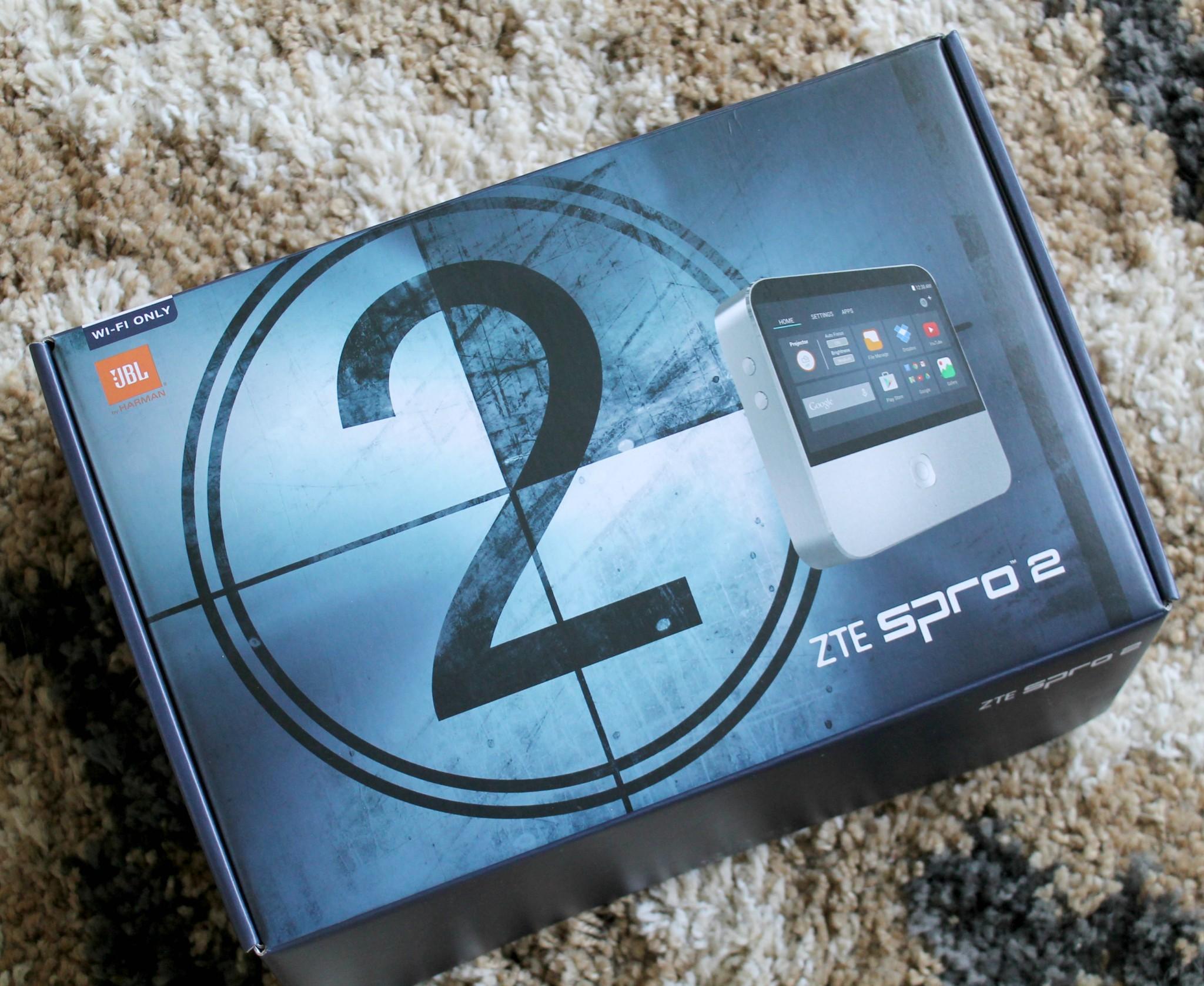 ZTE SPRO 2 Wireless Smart DLP Projector   Best Buy
