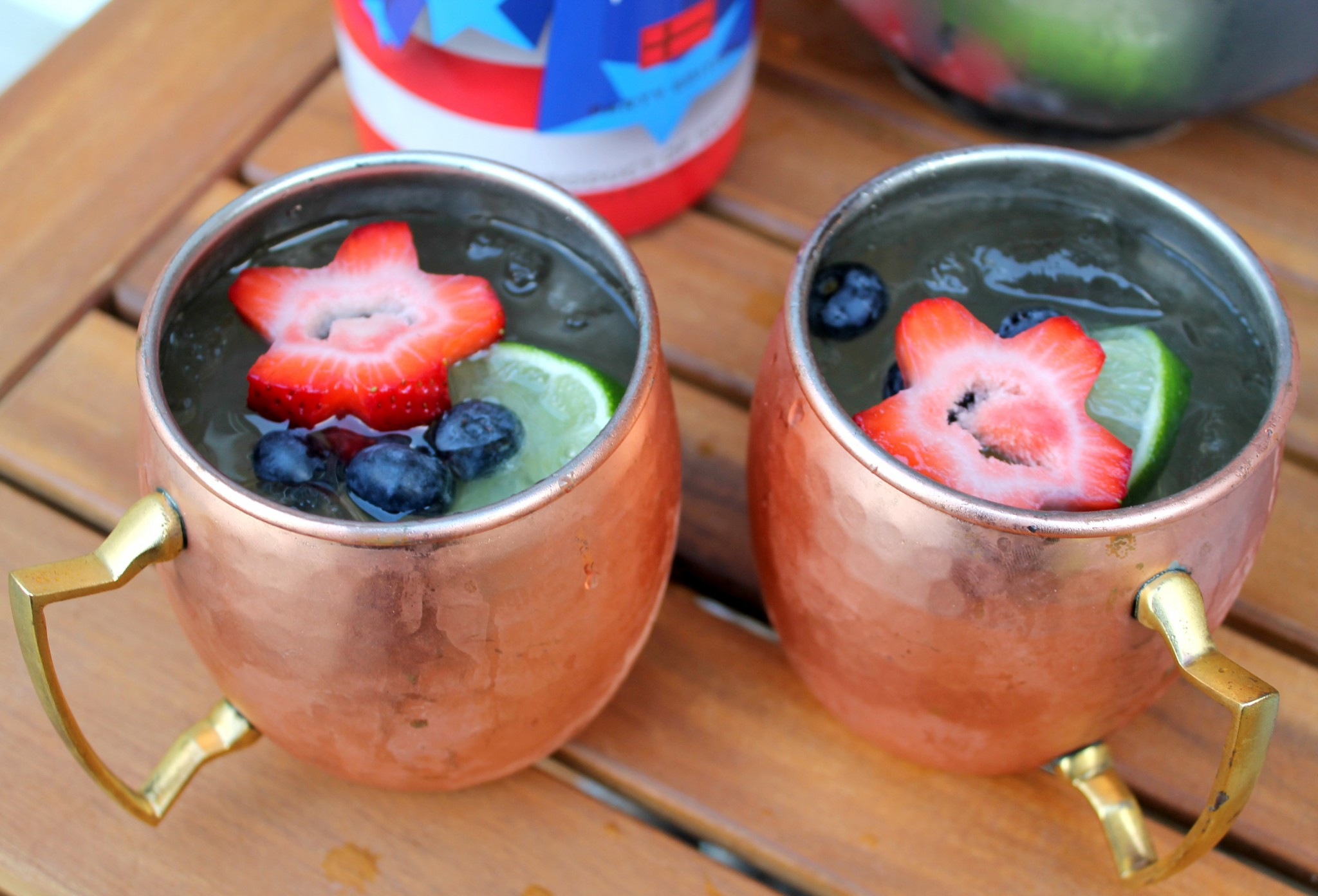 Patriotic Moscow Mules