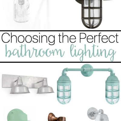 Choosing the perfect Bathroom Lighting