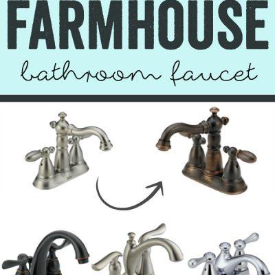 Choosing the Perfect Farmhouse Bathroom Faucet