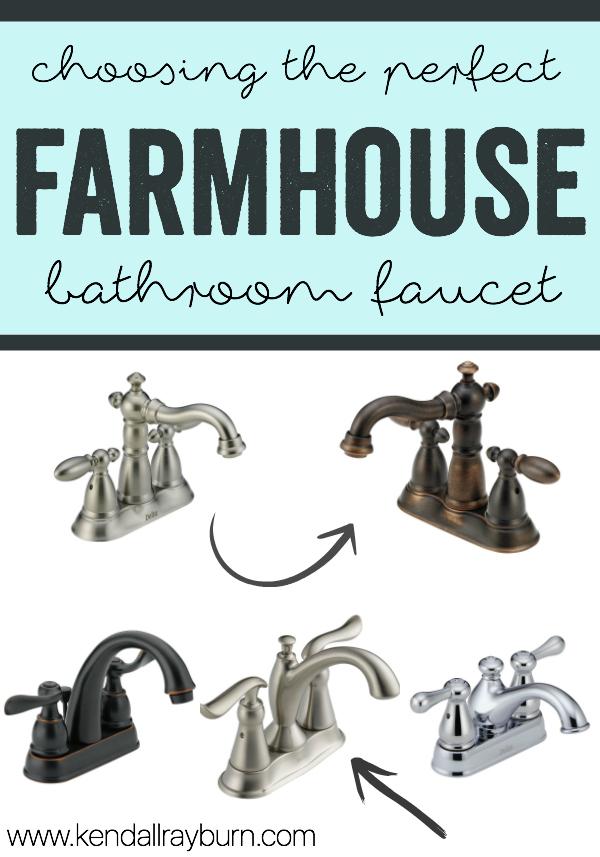 farmhouse faucet