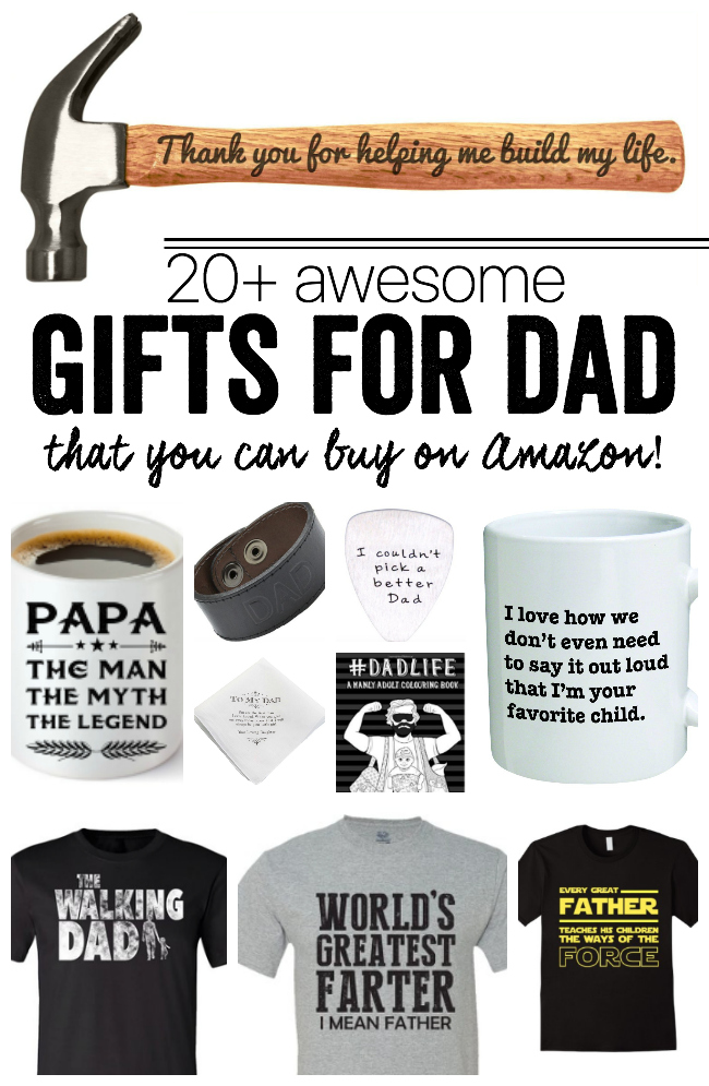 Gifts for Dad | 20 gift ideas (that you can buy on Amazon!)
