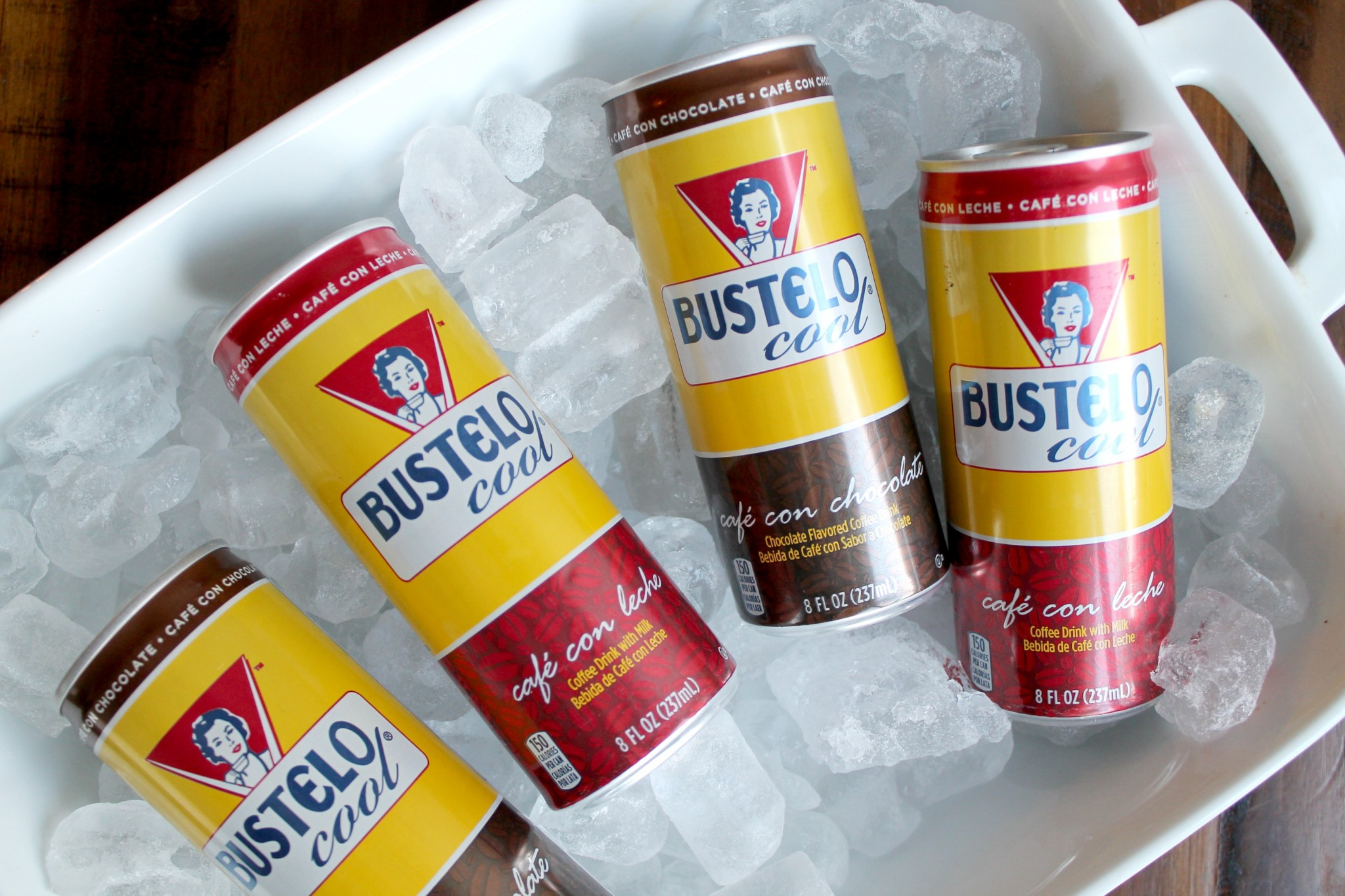 Bustelo Cool® Coffee Drinks at Walmart!