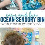 Ocean Sensory Bin Tutorial