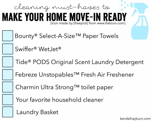 Tips to Make Your Home Move-In Ready