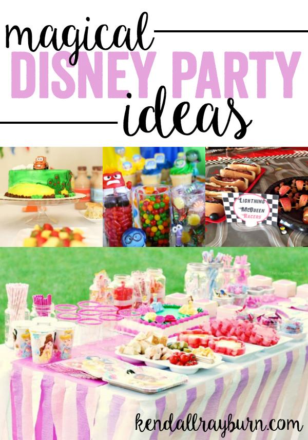 Magical Disney Party Ideas