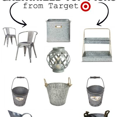 Galvanized Farmhouse Decor Favorites!