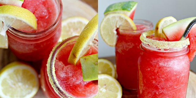 Watermelon Lemon Slush