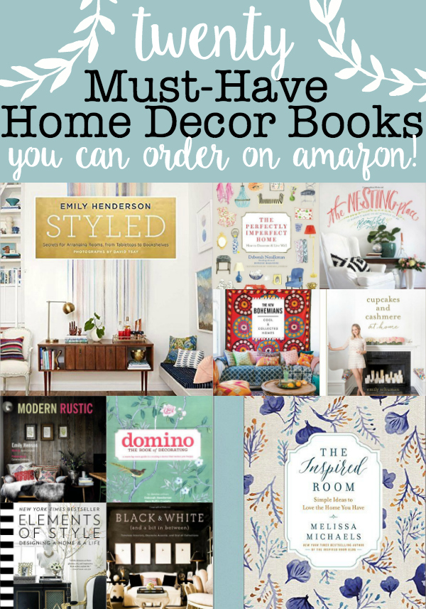 20 Must-Have Home Decor Books