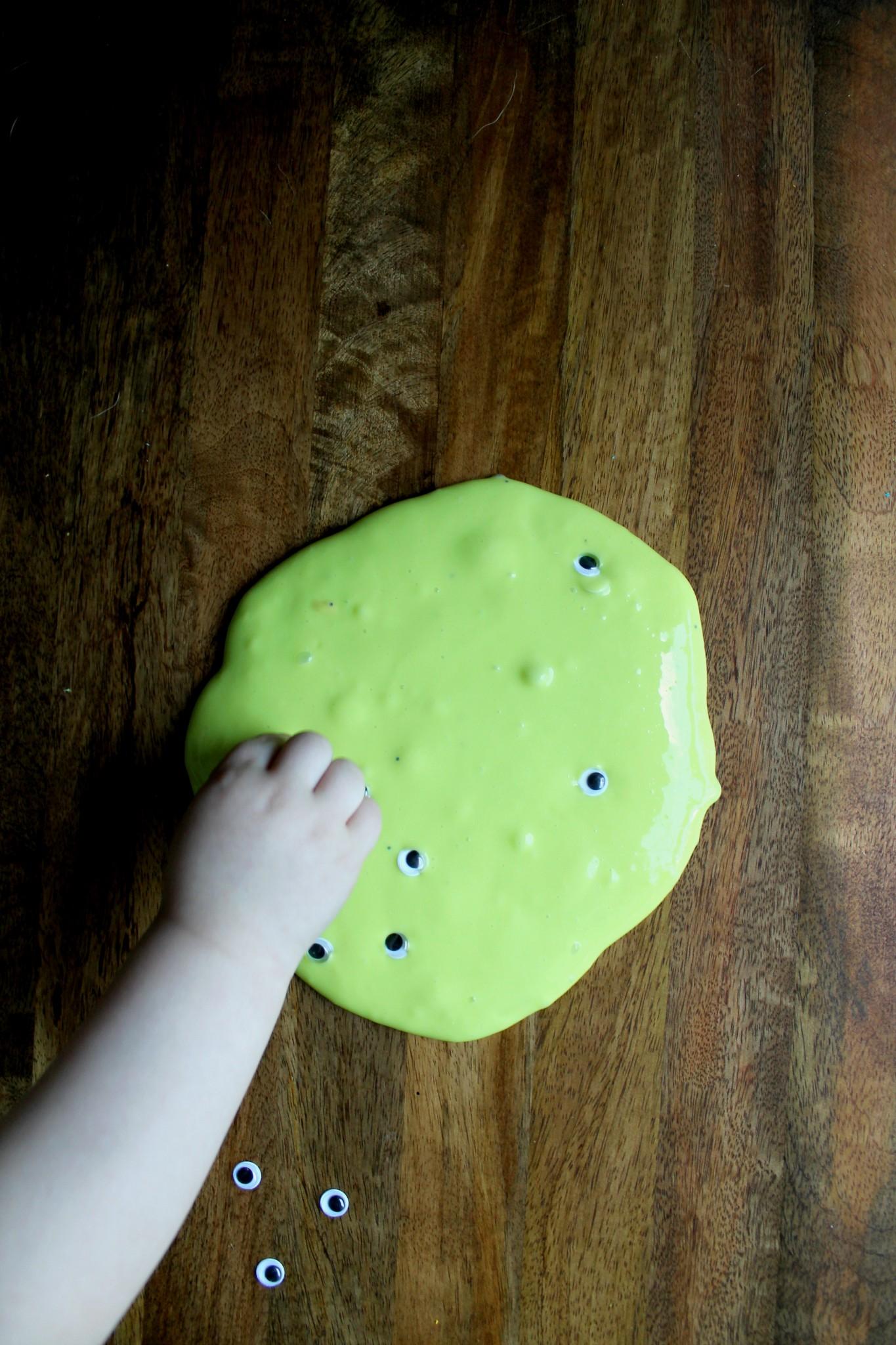 Five-Ingredient Spooky Slime