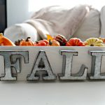 Easy Rustic Fall Centerpiece
