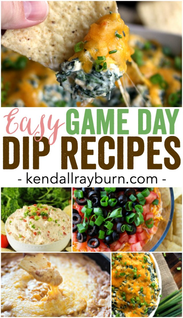 20 Easy Game Day Dip Recipes