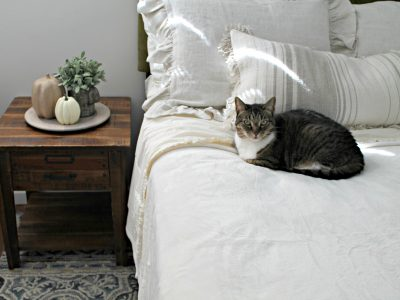 Cozy and Warm Bedding for Fall + Giveaway