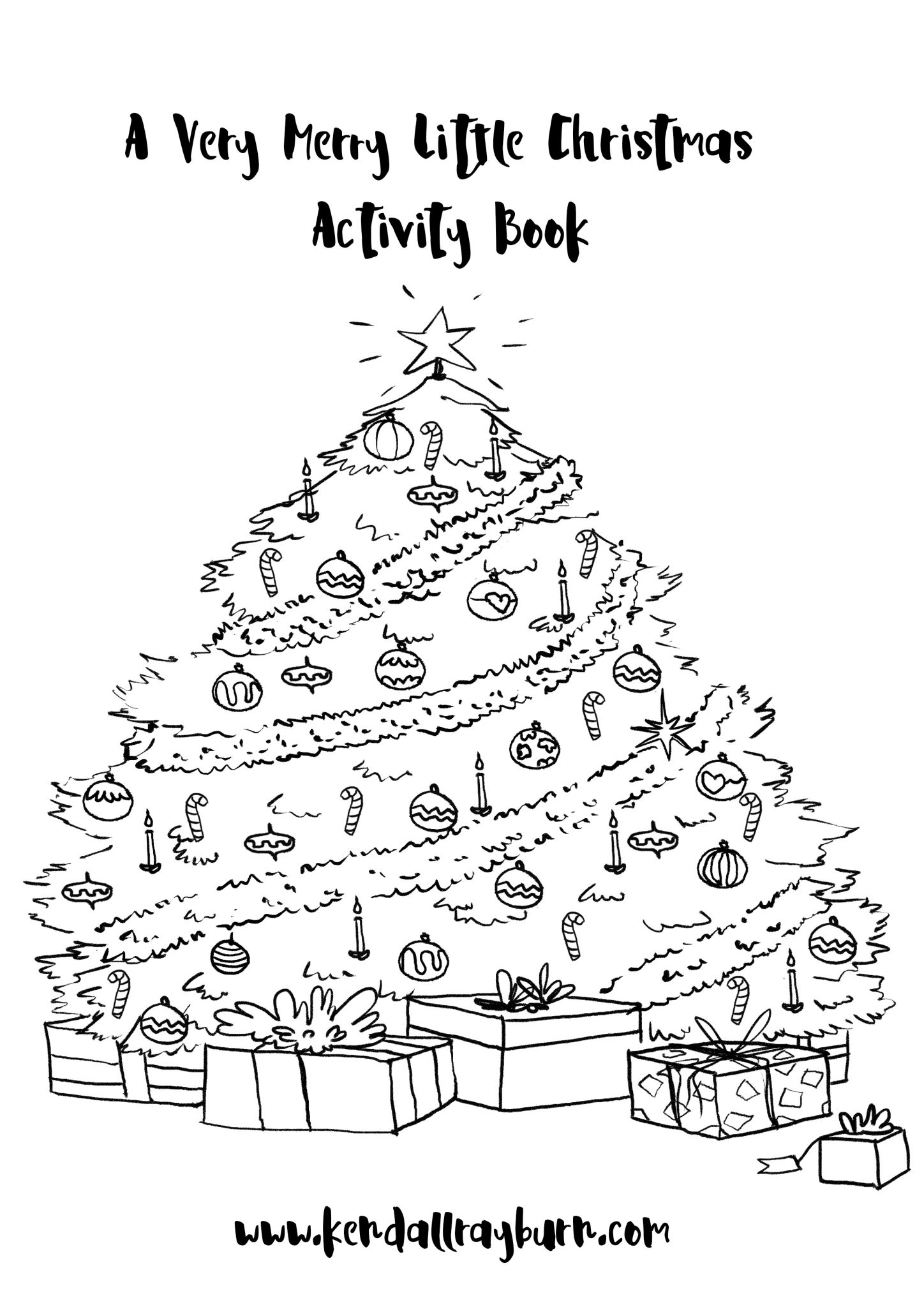 A Very Merry Little Christmas Printable Activity Book