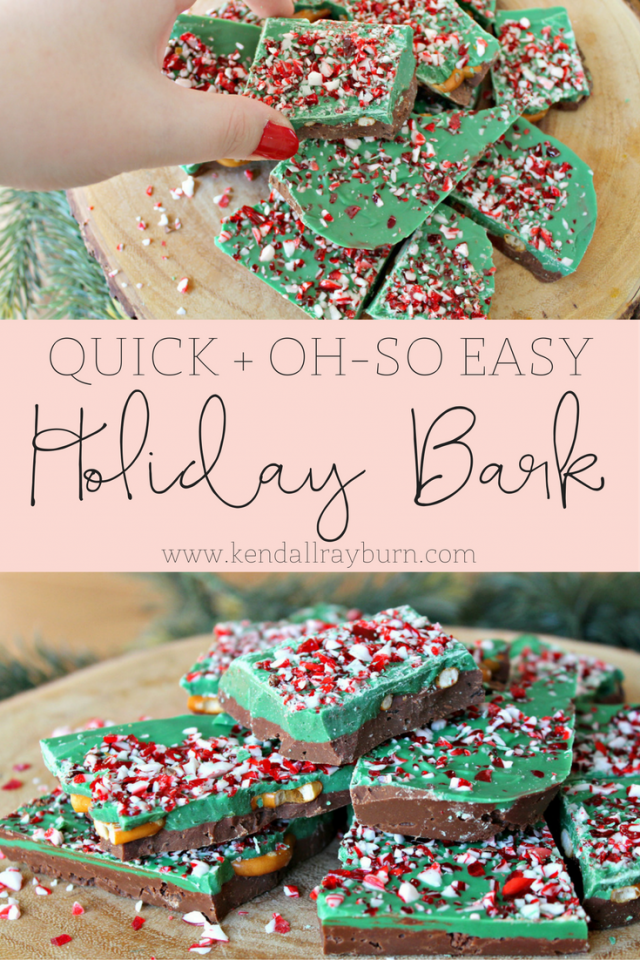 Quick and Easy Holiday Bark