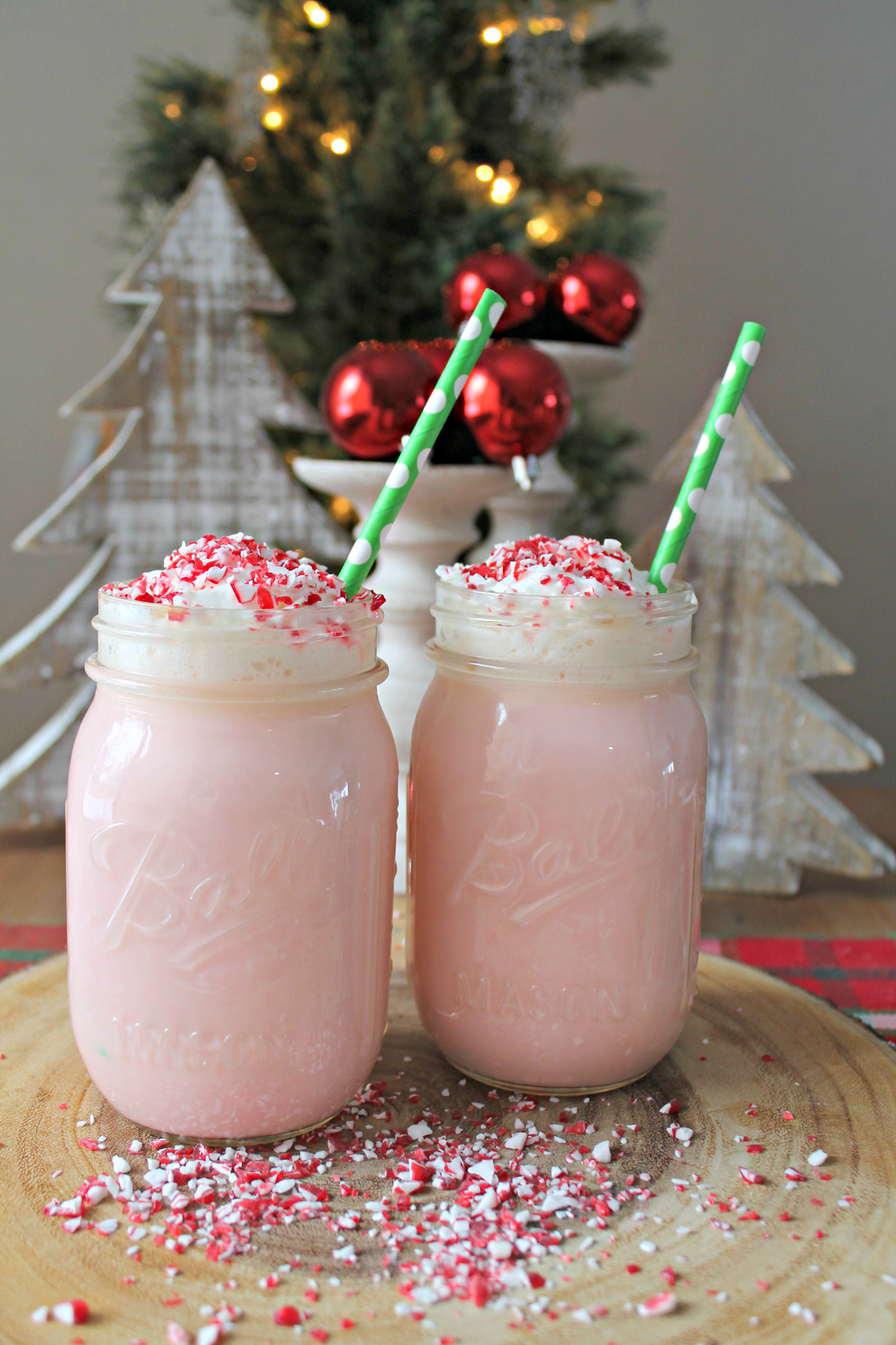 Crock Pot Peppermint White Hot Chocolate