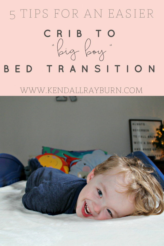 5 Tips for Making the Crib-to-Bed Transition Easier