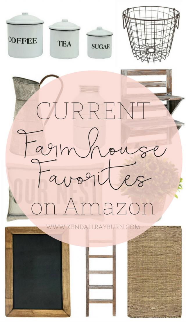Farmhouse Favorites on Amazon