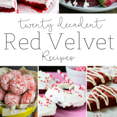 Twenty Decadent Red Velvet Recipes