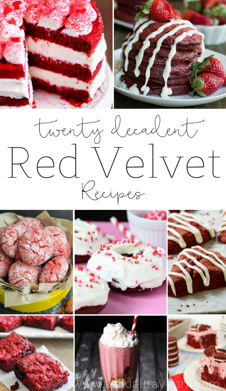 Twenty Decadent Red Velvet Recipes