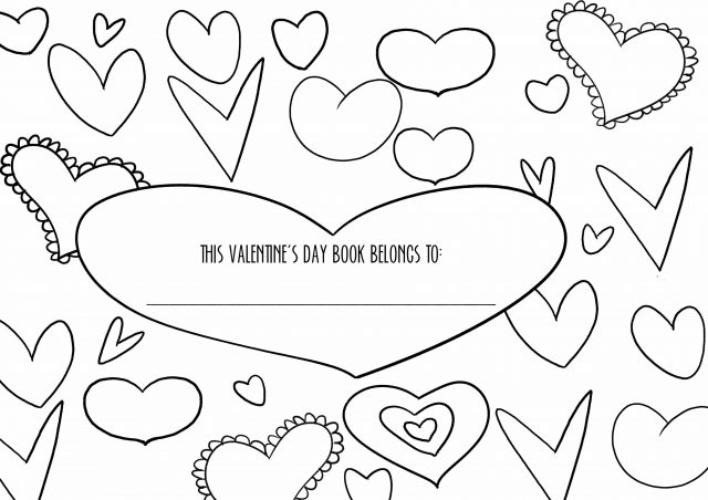 Free Printable Valentine's Day Activity Book
