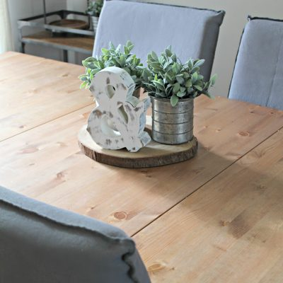 Creating a Fresh, Bright, Farmhouse Dining Room