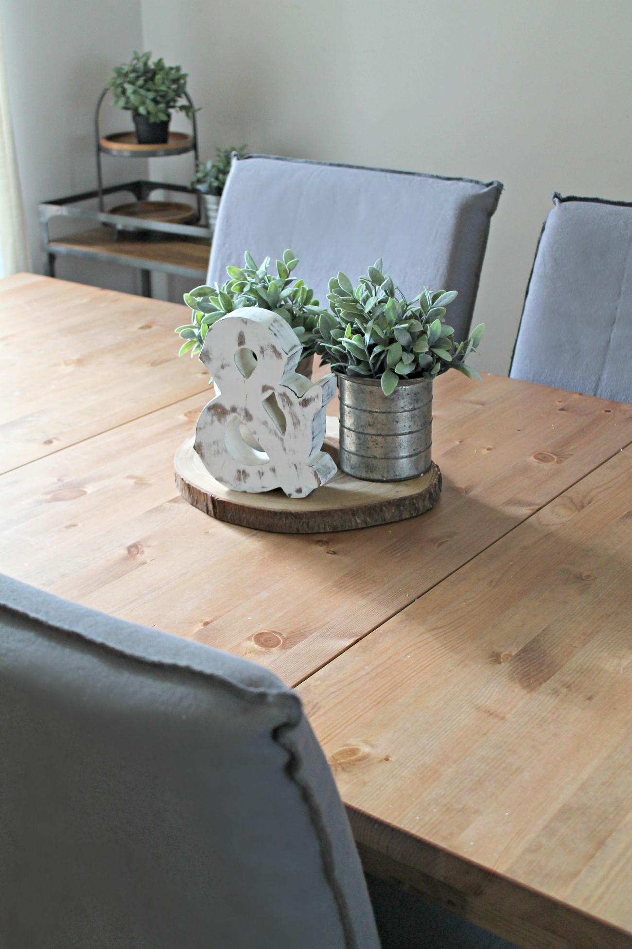 Creating a Fresh, Bright, Farmhouse Dining Room