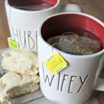 Honey Lemon Tea Biscuits