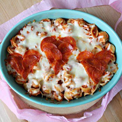 Valentine's Day Hearts Pasta