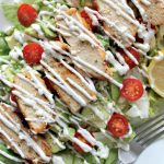 Loaded Lemon Pepper Chicken Salad