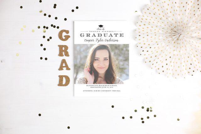 Gorgeous Graduation Stationery Options