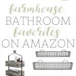 Farmhouse Bathroom Decor | Farmhouse Friday